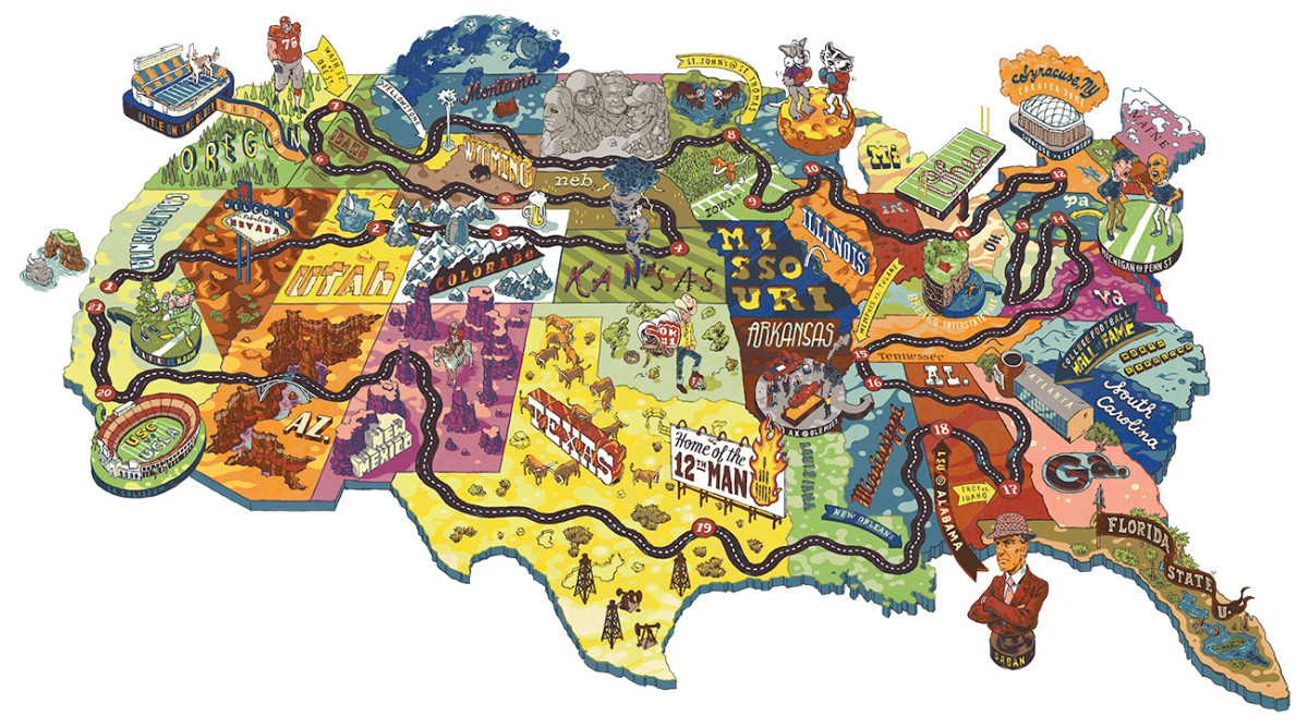 College football road trip: Mapping an epic 2017 season tour ... on pittsburgh art map, pittsburgh black map, pittsburgh simple map, pittsburgh interactive map, pittsburgh aviation map, pittsburgh illustration, pittsburgh history, pittsburgh photography,