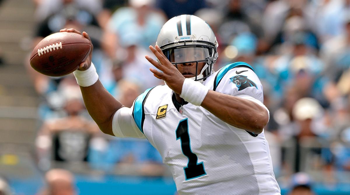Carolina Panthers quarterback Cam Newton.