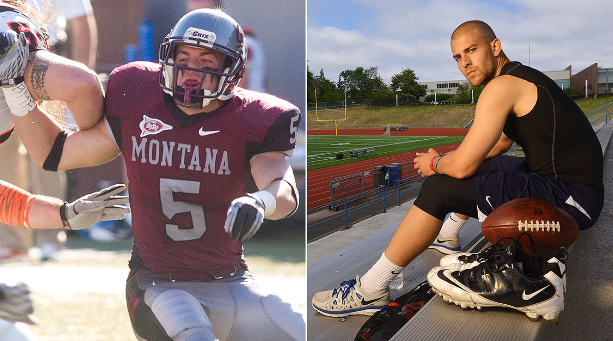 Donny Lisowski never experienced any issues as a white cornerback at the University of Montana, but he never quite stuck in the NFL.