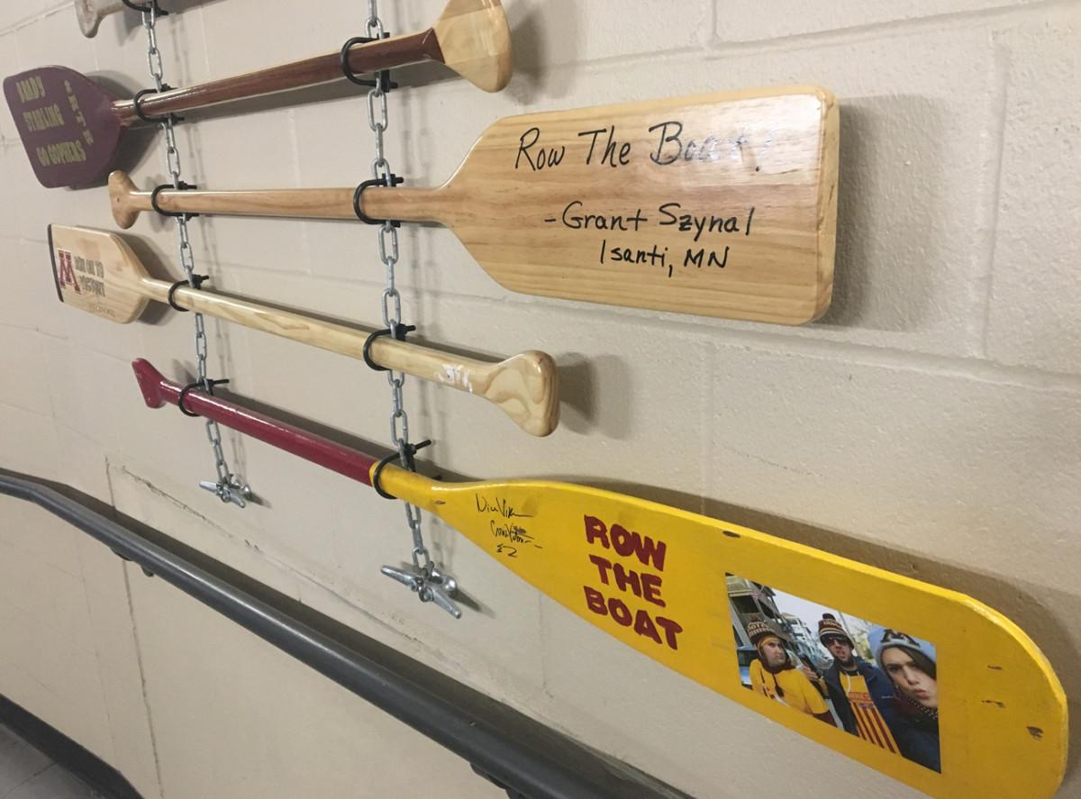 Oars, University of Minnesota.