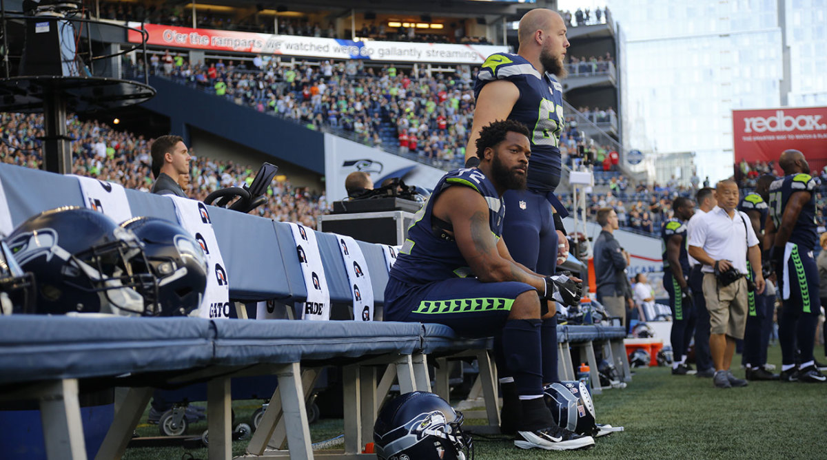 Michael Bennett spoke out Tuesday about his harrowing encounter with Las Vegas police.