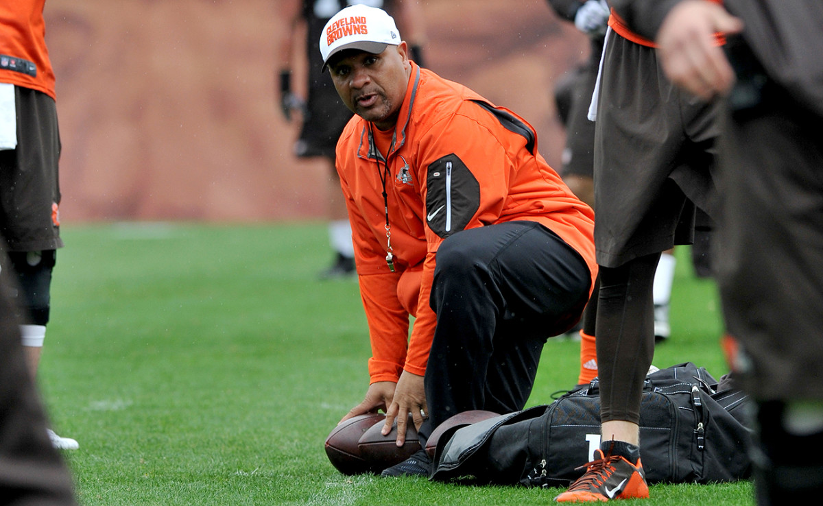 How Hue Jackson tries to build the Browns into a winner might make for compelling television, but not if the coach has any say in the matter.