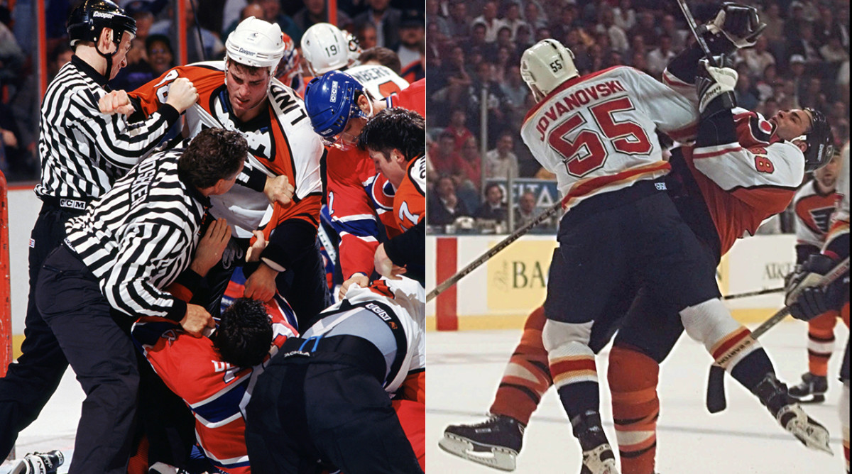 Lindros gave out just as much punishment as he took, which led to no small amount of schadenfreude when concussions cratered his career.