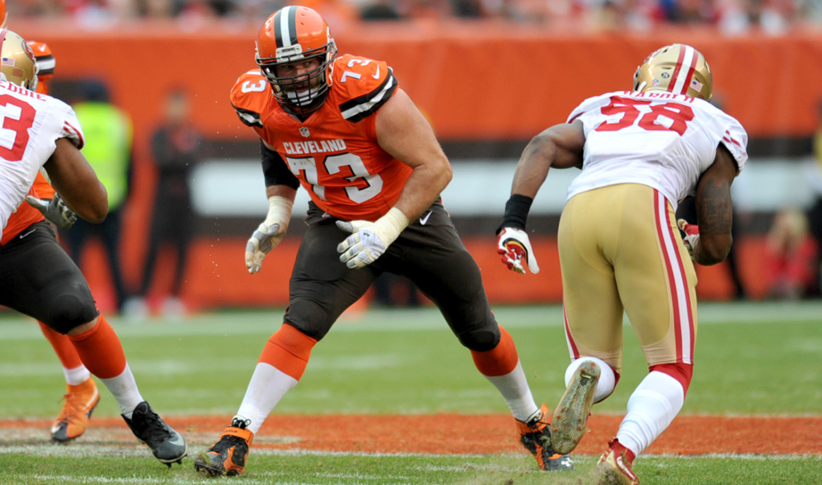 Joe Thomas has started every game for the Browns since they picked him third overall in the 2007 draft.