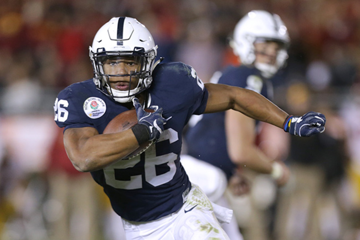 Penn State's Barkley is an early Heisman front-runner, and is already the subject of 2018 draft buzz.