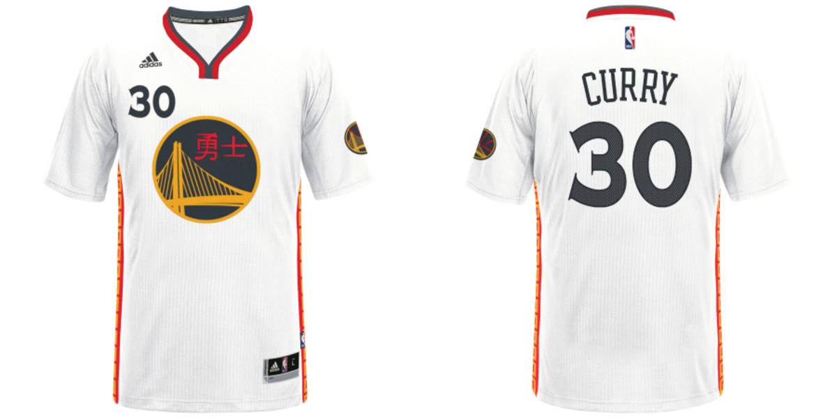 NBA unveils Chinese New Year jerseys