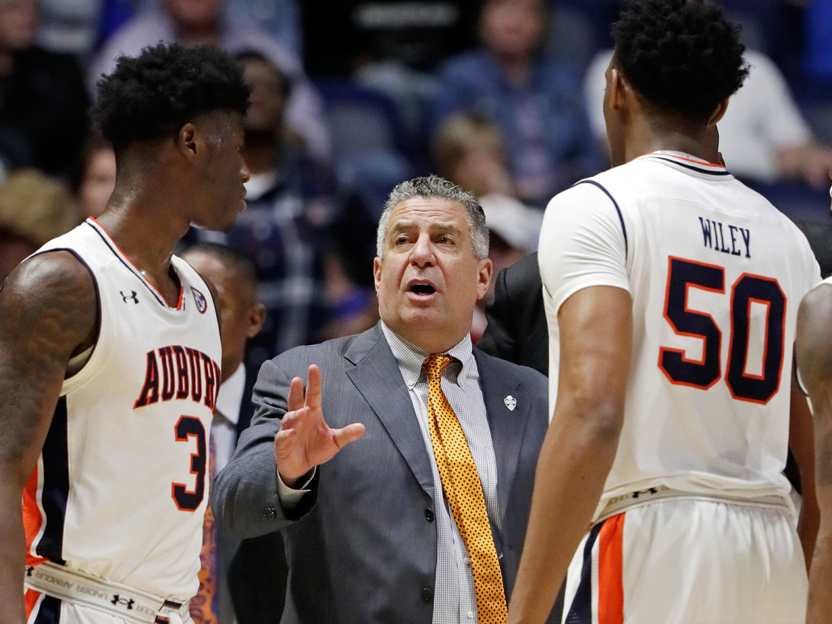 Auburn's suspension Danjel Purifoy (3) and Austin Wiley (50) provided some of the first on-court fallout from the FBI's investigation.