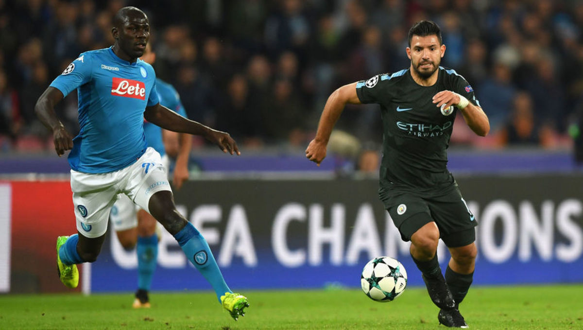 Napoli 2-4 Manchester City: Record Breaker Sergio Aguero