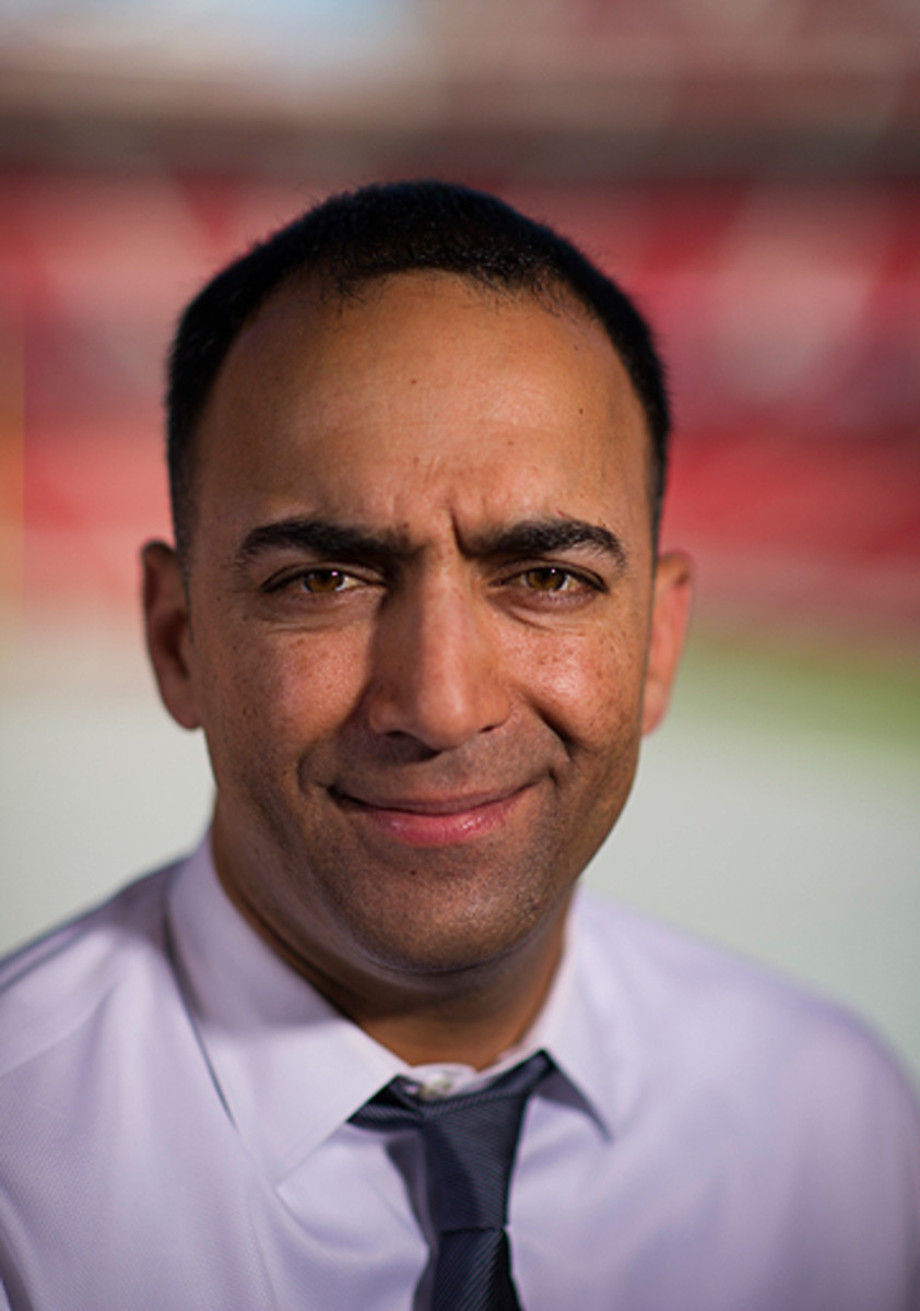 Paraag Marathe, currently the vice president of football operations, has worked for the 49ers for 17 seasons.