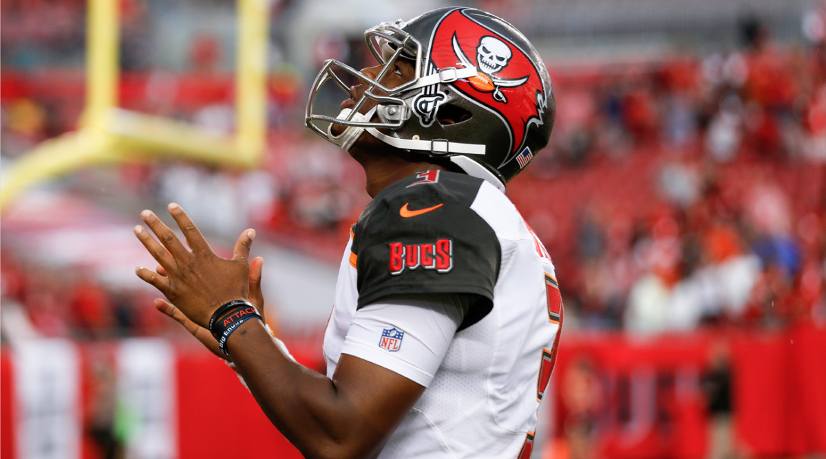 Jameis Winston and the Bucs will make their season debut Sunday against the Bears in Tampa.