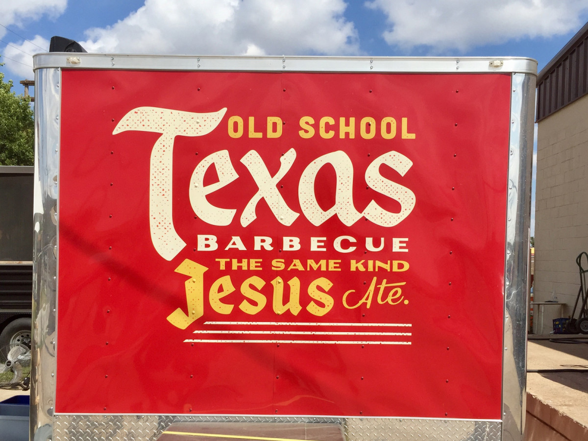 Guess Family Barbecue in Waco, Texas.