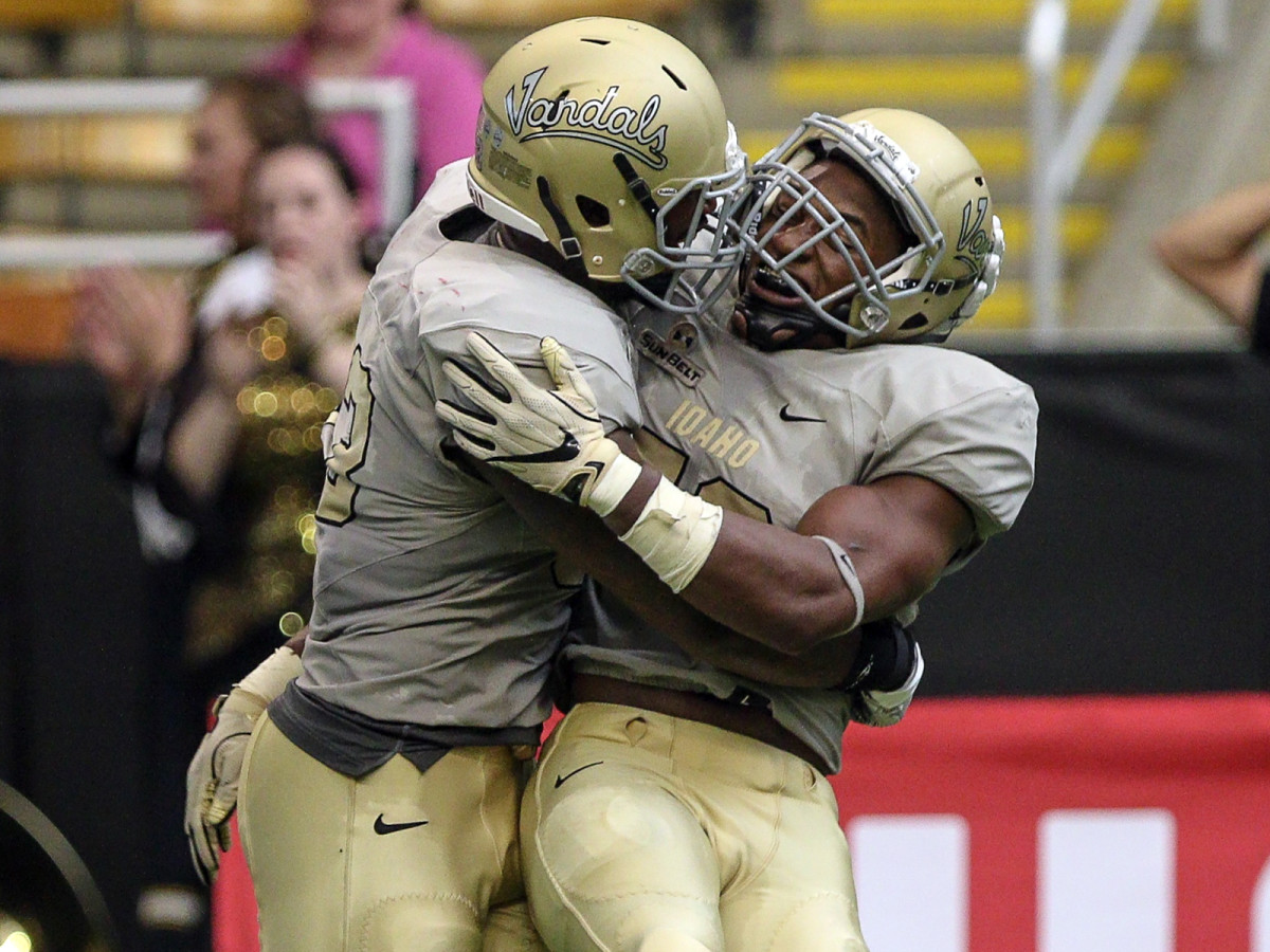 Celebrations have come few and far between during the Vandals' final FBS season, which is off to a 2–4 start.