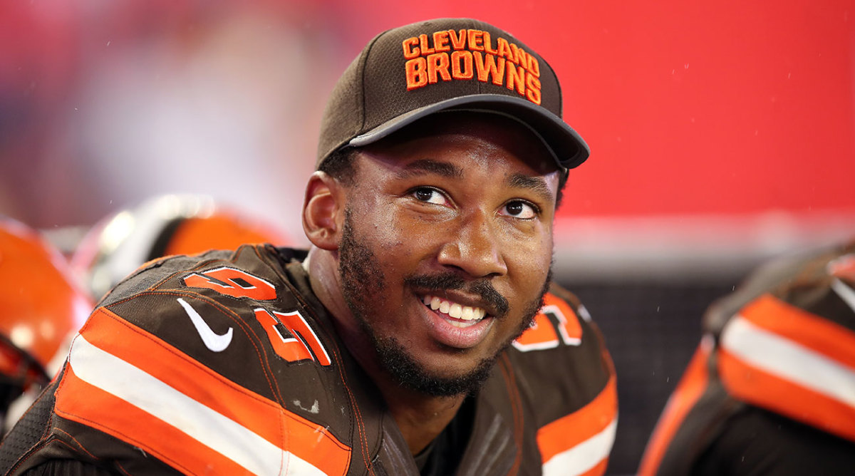 No. 1 pick Myles Garrett could make his debut Sunday against the Jets.