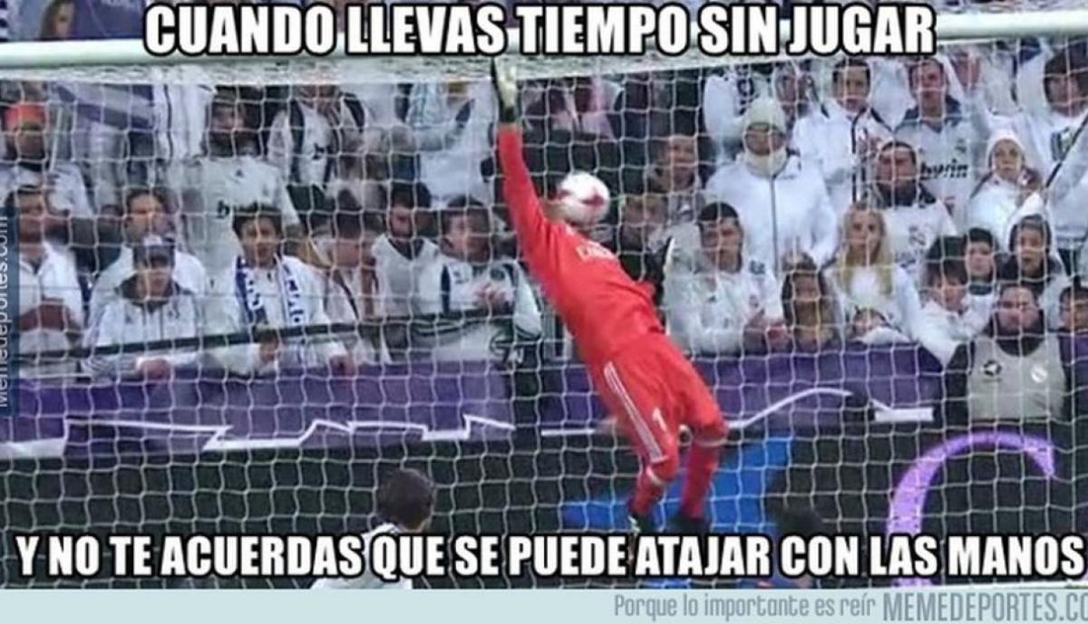 Facebook: los memes del Real Madrid tras empate en la Copa del Rey
