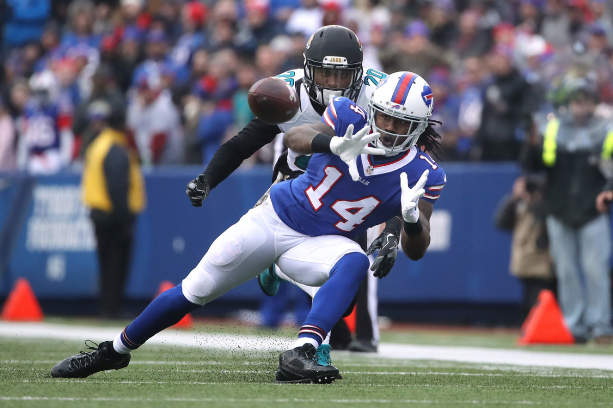 Sammy Watkins averaged 16.1 yards per catch during his three seasons with the Bills.