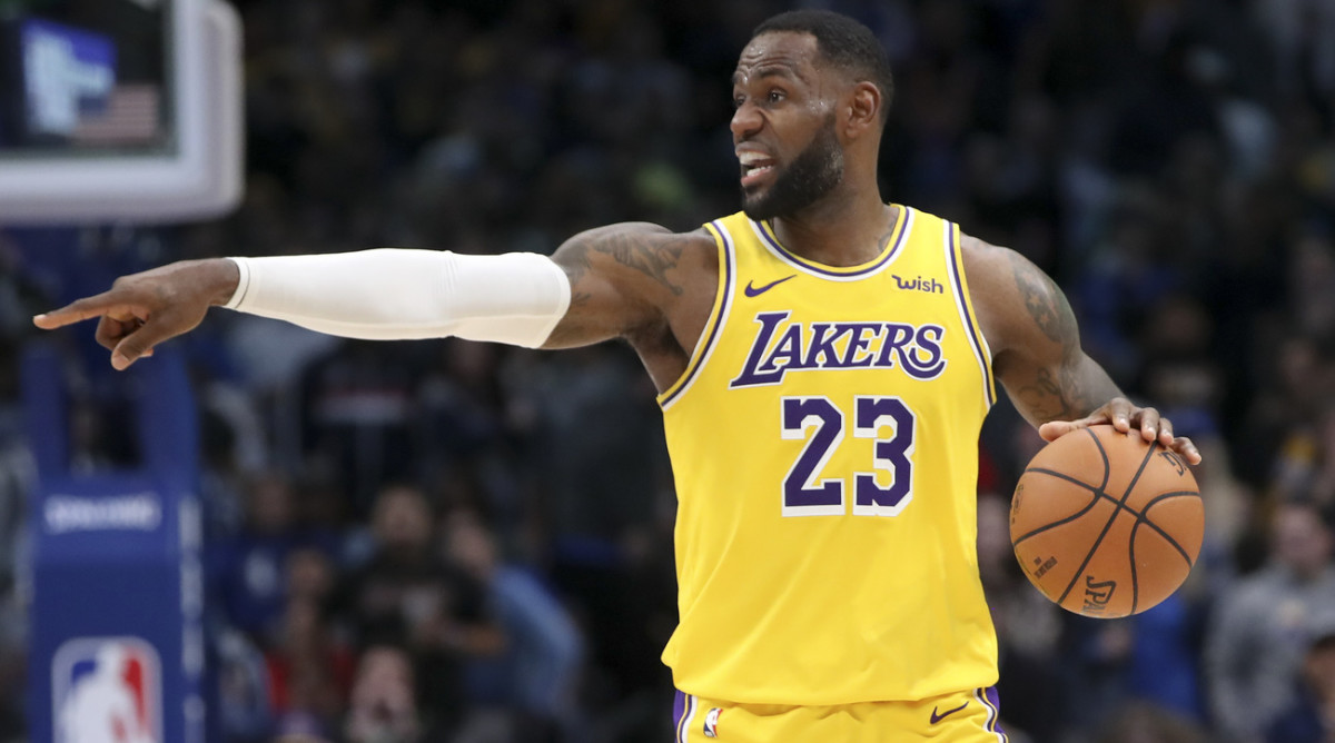 DraftKings Daily Plays Tuesday November 5, LeBron James