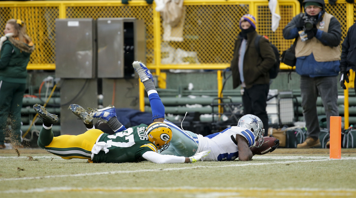 Dez Bryant's controversial incomplete catch.