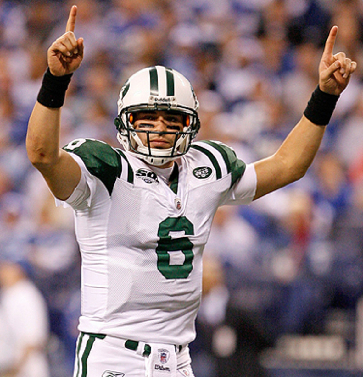 Since leaving the Jets in 2013, Mark Sanchez has been on the roster of three NFL teams: Eagles, Broncos and Cowboys.