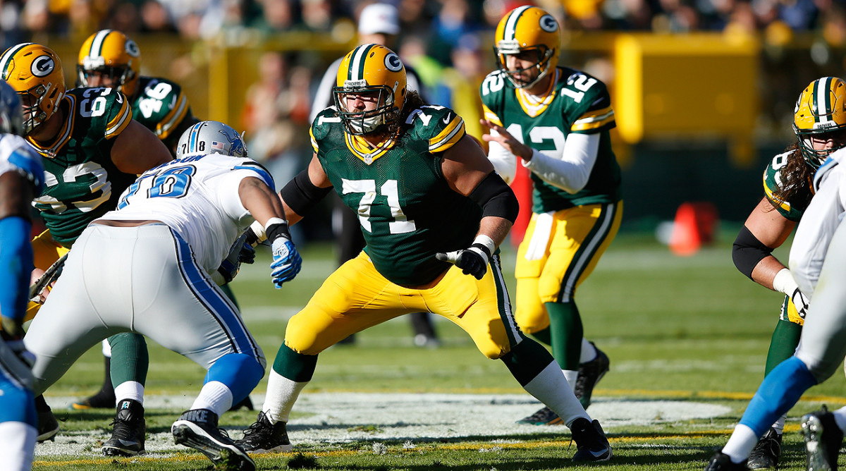 Offensive lineman Josh Sitton played eight seasons for the Packers and now will face his former team twice a season as a Chicago Bear.