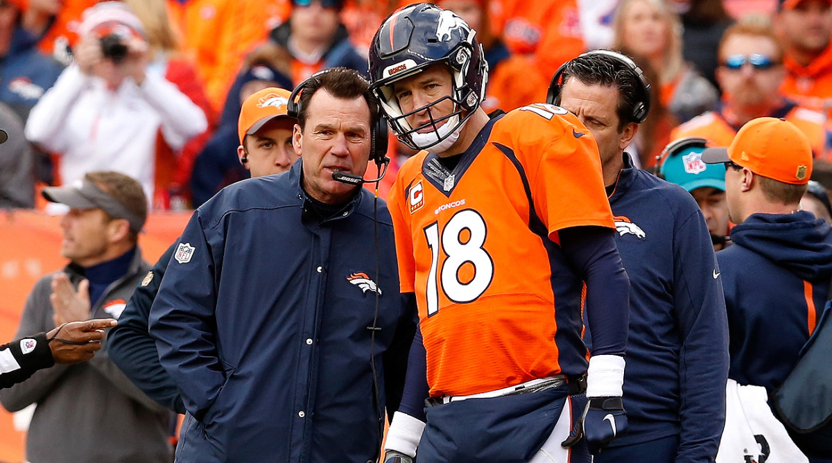 The Broncos' Super Bowl win was the fourth for Gary Kubiak and second for Peyton Manning.