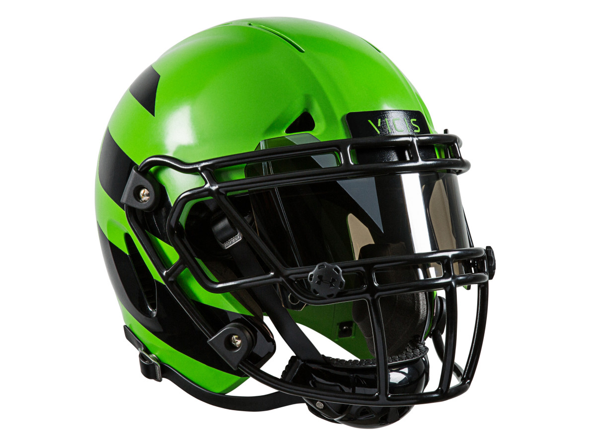 Seattle-based VICIS unveils new design for football helmets