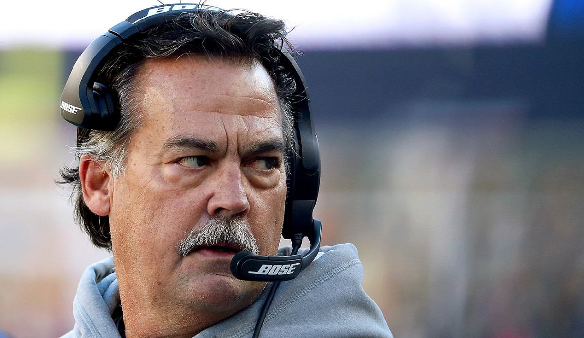 Jeff Fisher-led teams haven't won more than eight games in a season since 2008.