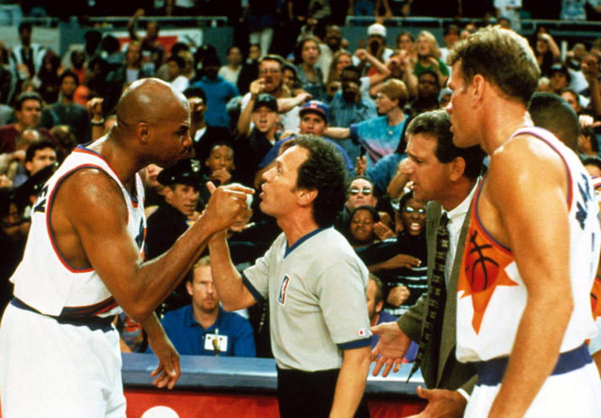 Charles Barkley and Billy Crystal