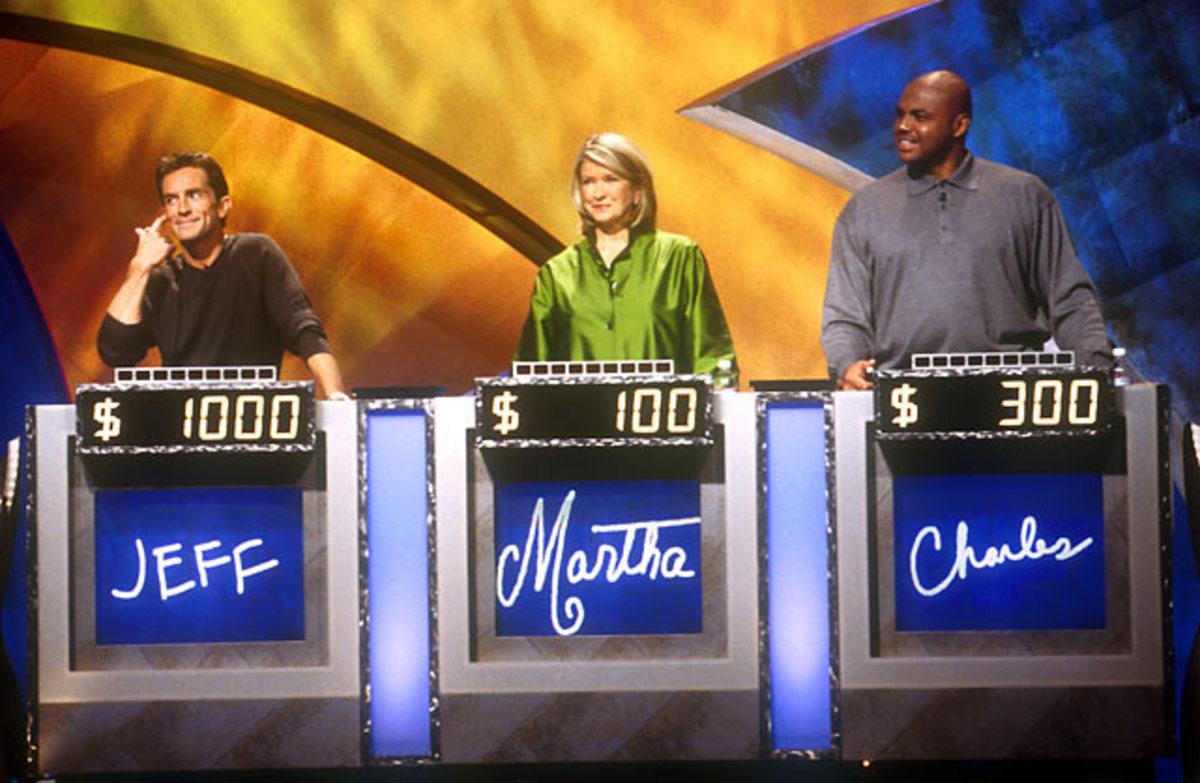 Charles Barkley, Martha Stewart and Jeff Probst