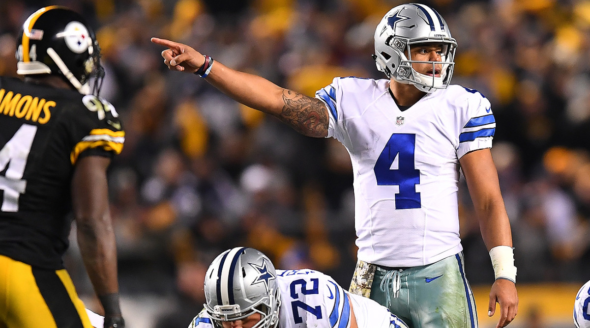 The Cowboys are pointed in the right direction with Dak Prescott at quarterback.