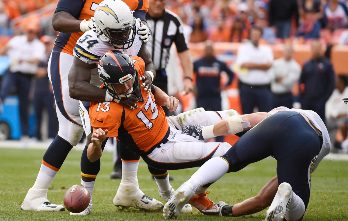 Every contender has a hole, and the Broncos might have one at the game's most important position.