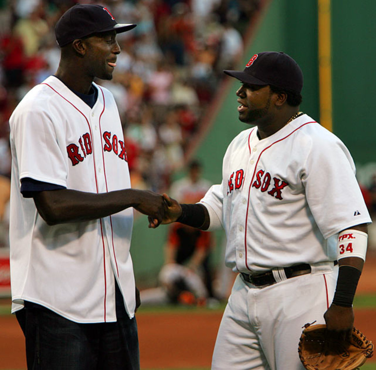 Kevin Garnett and David Ortiz