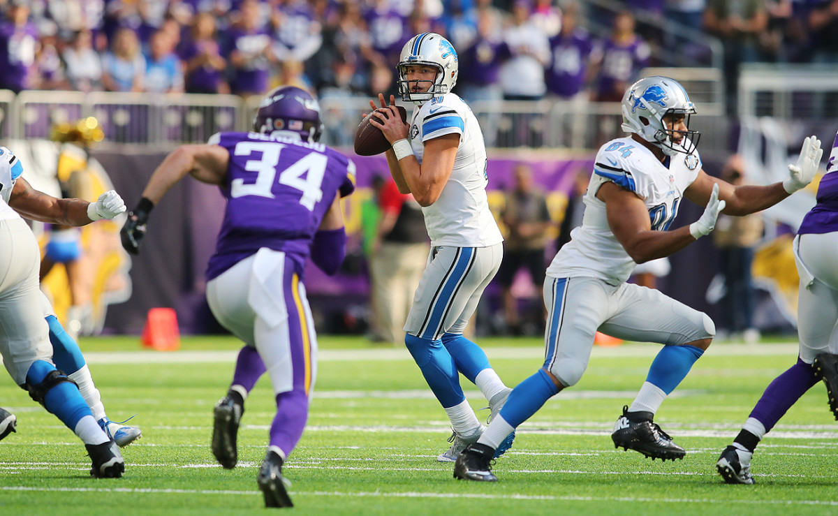 Matthew Stafford has helped the Lions win four of their past five games.