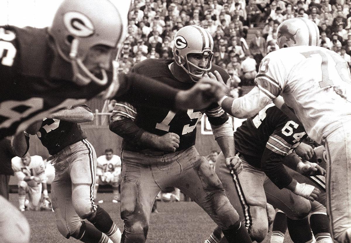 Forrest Gregg, Packers vs. Lions, September 1963.