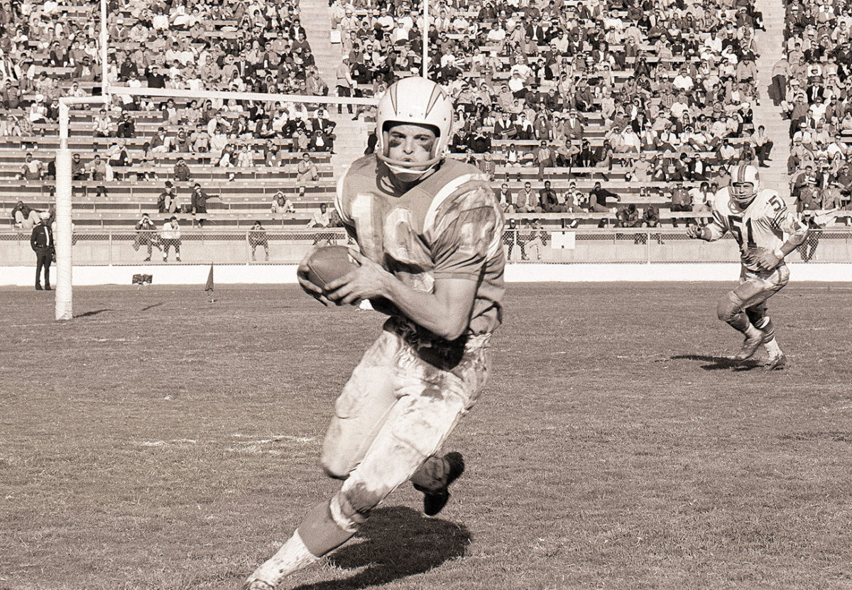 Lance Alworth, Chargers vs. Bills, 1965.