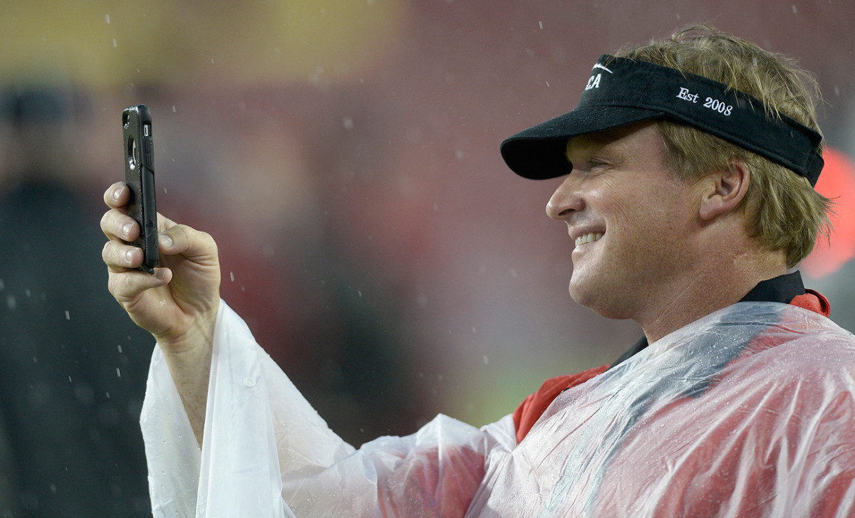 Jon Gruden has been off the sidelines for eight seasons. Will he ever coach again?