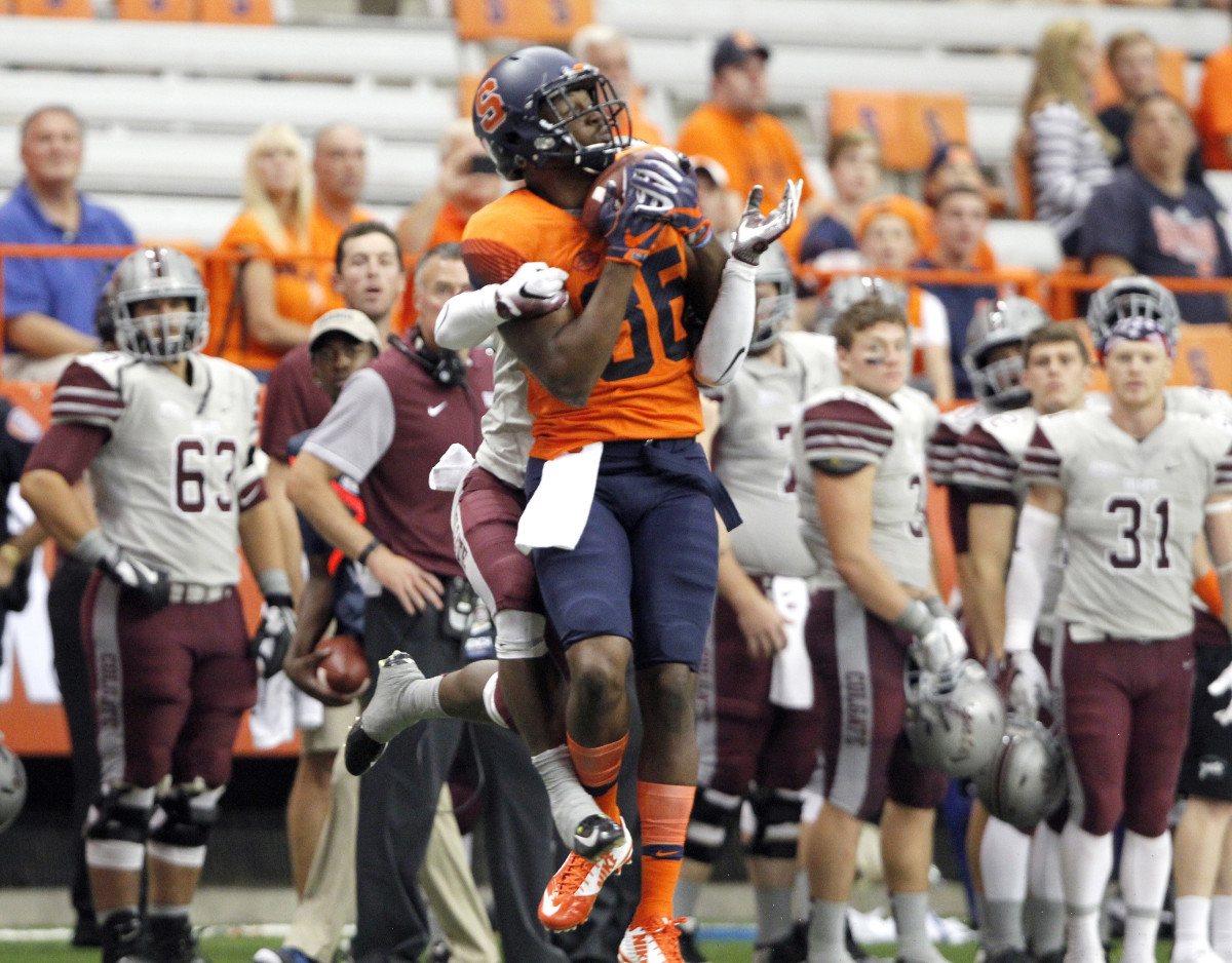 Syracuse rolls past Colgate with 33-7 win - Sports Illustrated