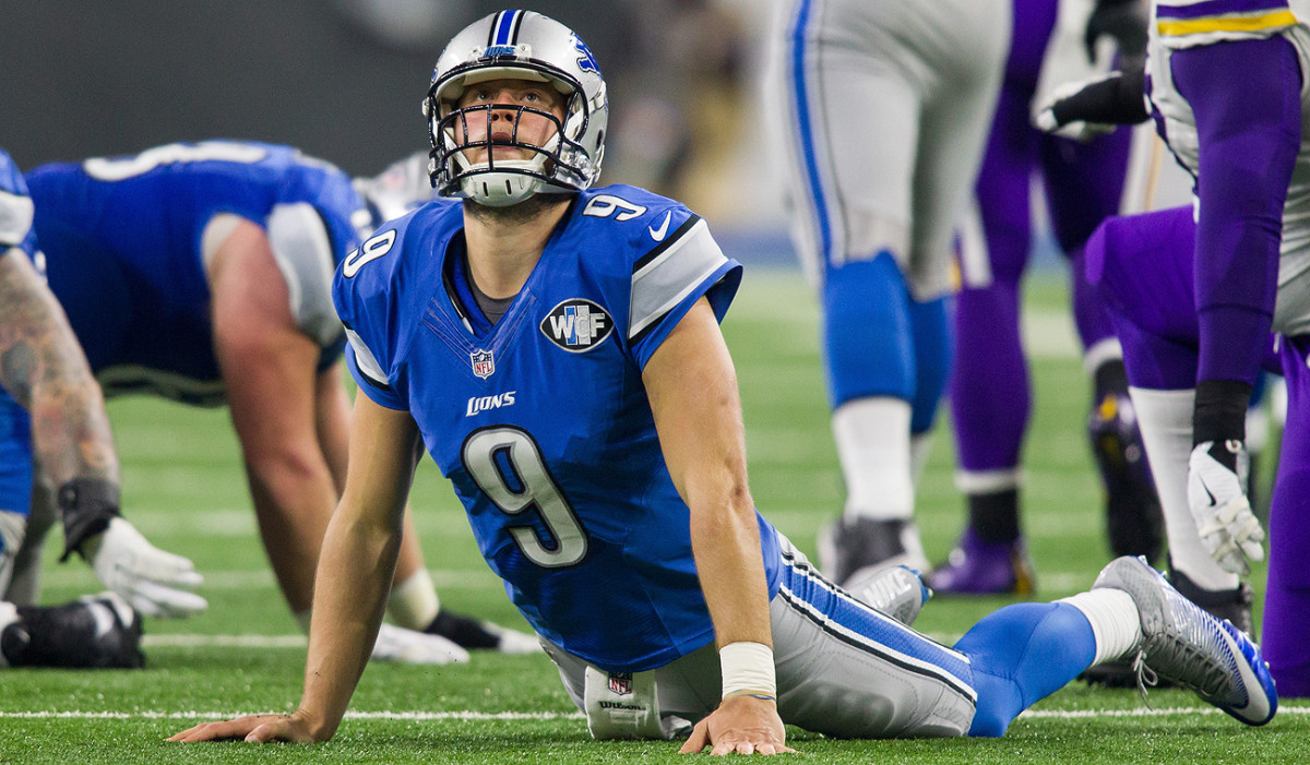 Matthew Stafford and the Lions have been down late—but not out—in every game this season.