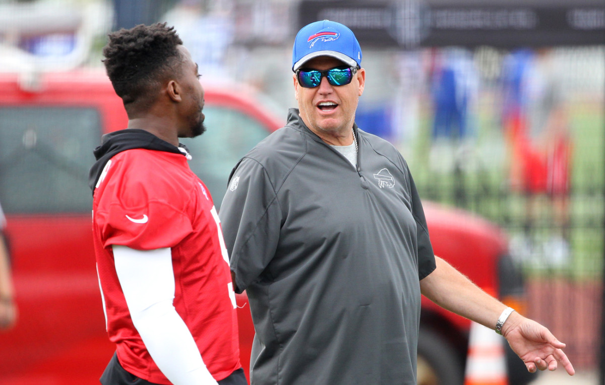 Ryan with Tyrod Taylor, who may be looking for a payday.
