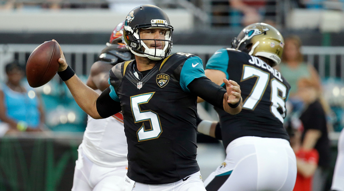 Blake Bortles and the Jags will enter 2016 looking for the franchise's first winning season in nine years.