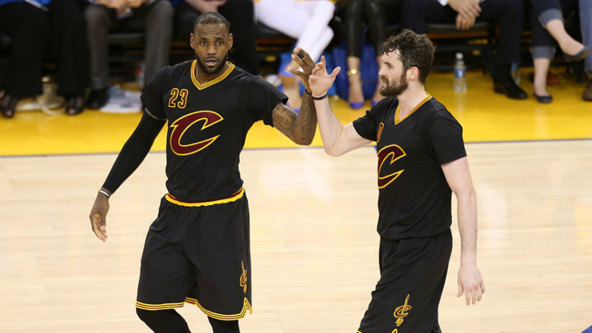 NBA Finals Game 7: Cavs wearing sleeved jerseys - Sports Illustrated