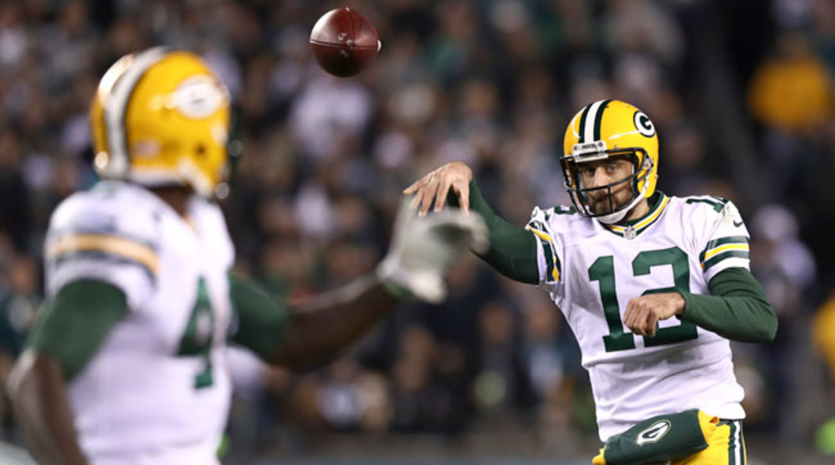 The Packers remain in the playoff picture thanks to Aaron Rodgers' Aaron Rodgers-type performance.