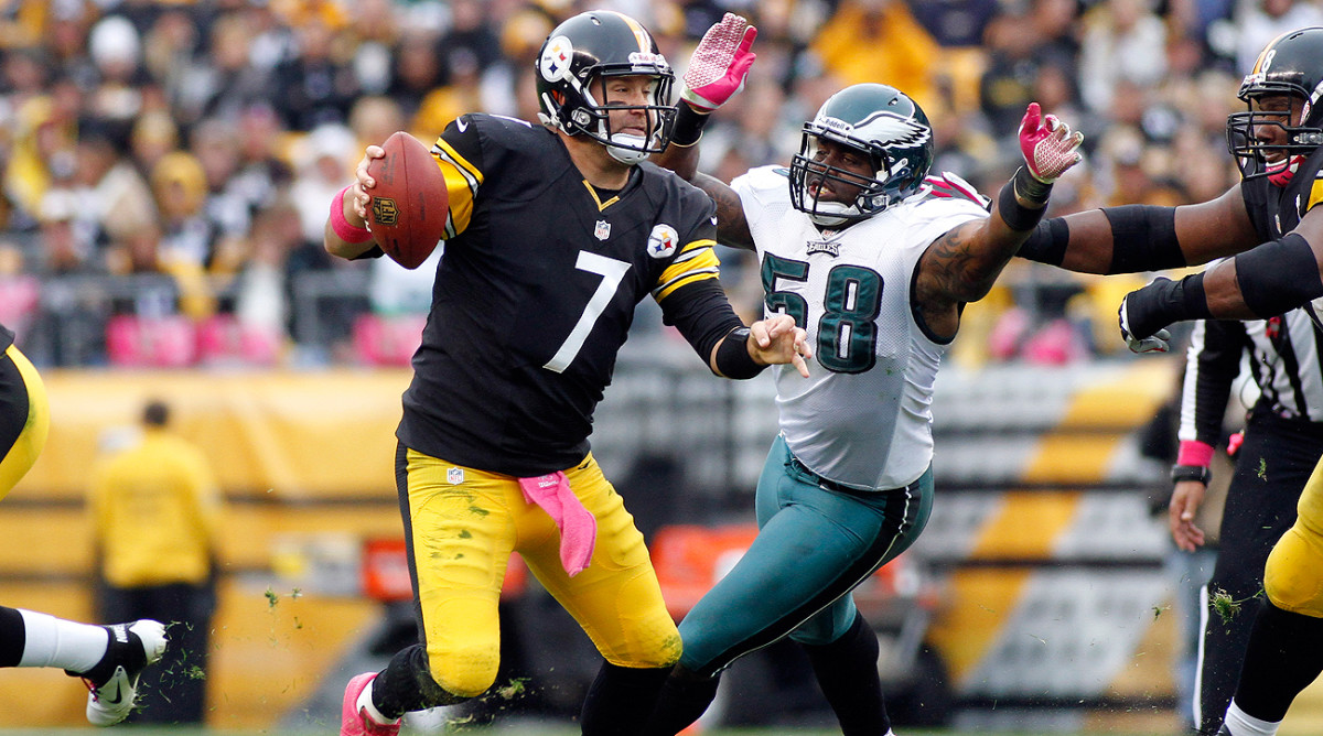 Sunday's game against the Eagles will be just the fourth time Ben Roethlisberger has played Pittsburgh's cross-state rival in the regular season.