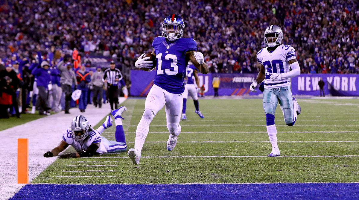 Odell Beckham Jr. hit another gear in the game-defining touchdown Sunday night.