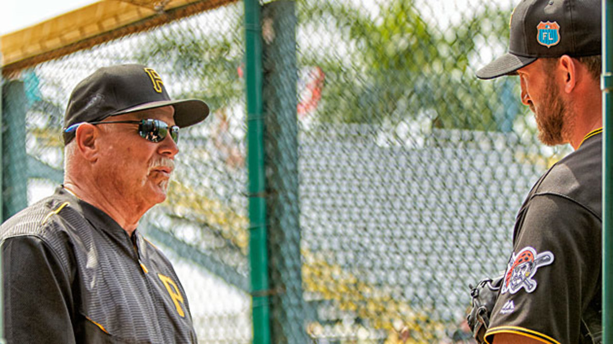 A long line of pitchers have improved under Searage (left), and the Pirates hope Jon Niese will be next.