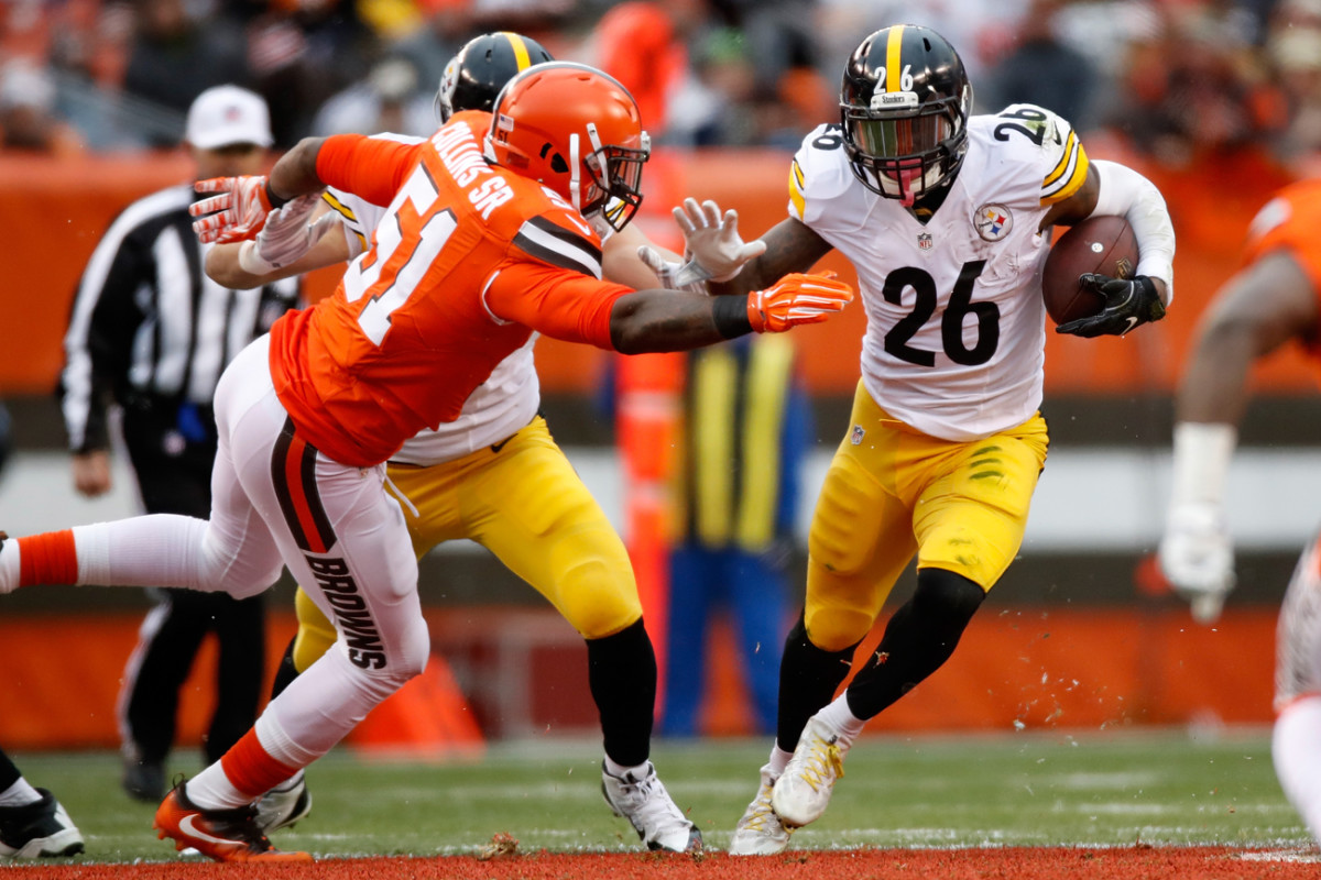 Jamie Collins of the Browns and Le'Veon Bell of the Steelers are both candidates for the tag treatment in 2017.