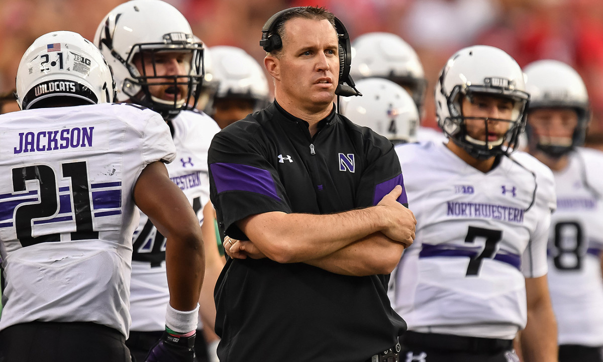 Northwestern's Pat Fitzgerald might be a good fit if the Bears' head-coaching job opens.