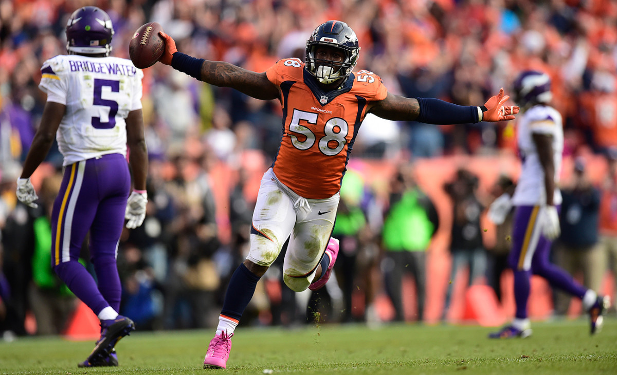 A deadline looms in mid-July regarding Von Miller's contract status with the Broncos.