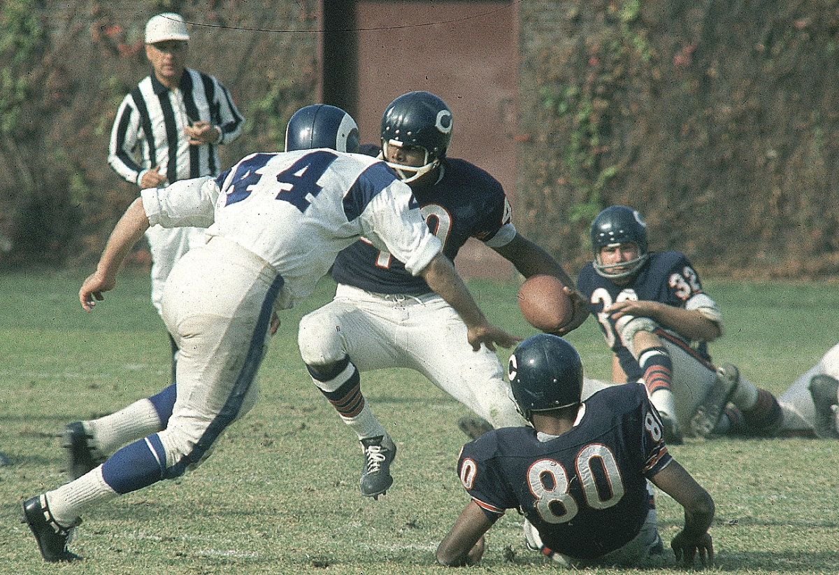 Gale Sayers, October 1966.