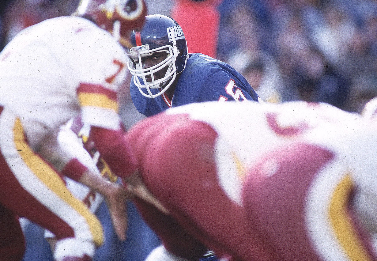 Lawrence Taylor, December 1983.