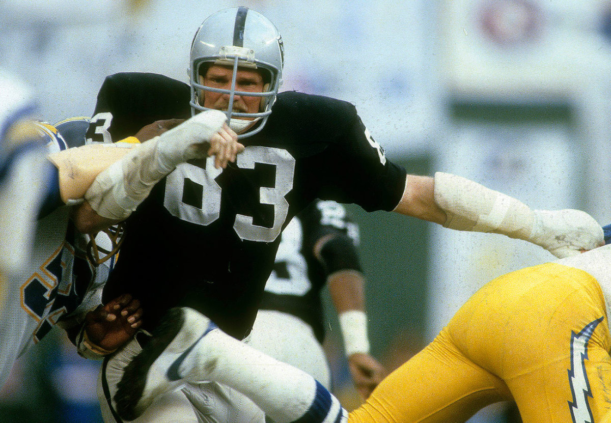 Ted Hendricks, AFC title game, January 1981.